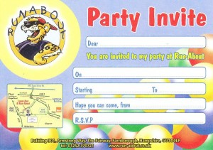 Cold Food Party Invite