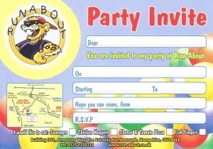 Hot Food Party Invite
